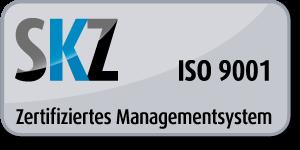 Button ISO-Zertifizierung